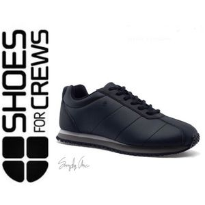 NWT Stylish Shoes for Crews non slip shoes black